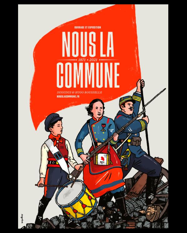 Affiche Nous la Commune ! - Offset